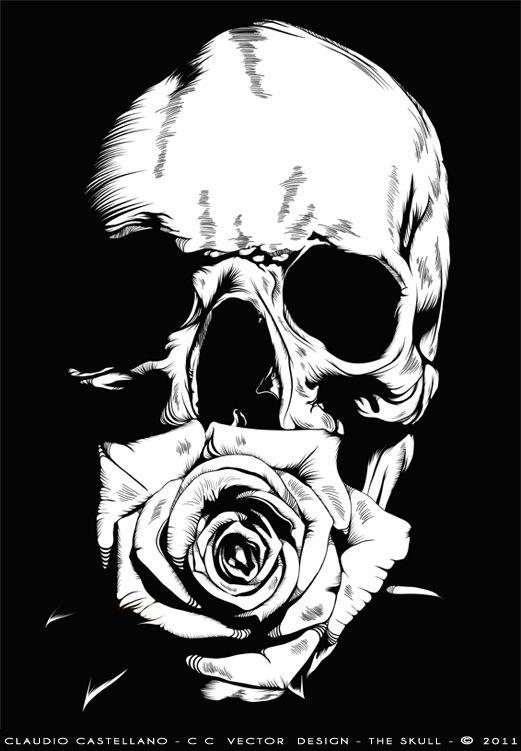 THE SKULL http://www.creativeboysclub.com/tags/we-love-skulls