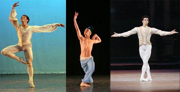 Segundo, no centro da foto: Quem também faz parte do American Ballet Theater é Irlan Santos. Ele saiu da favela do alemão, no Rio de Janeiro, para se apresentar nos principais palcos dos Estados Unidos.