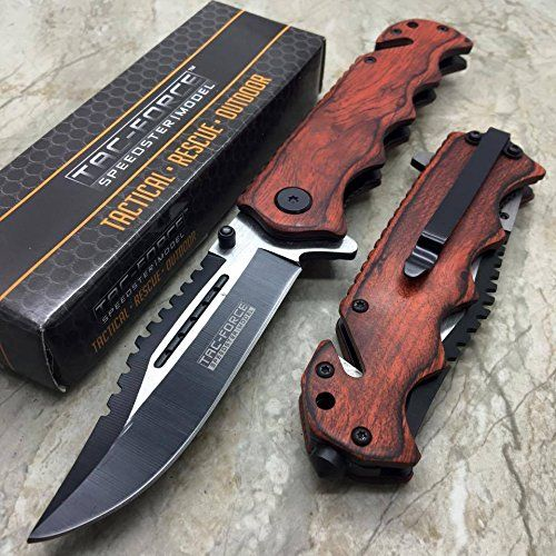 Tac Force G'Store Vintage Wooden Handle Pocket Hunting Tactical hunting Handy Knife   https://huntinggearsuperstore.com/product/tac-force-gstore-vintage-wooden-handle-pocket-hunting-tactical-hunting-handy-knife/