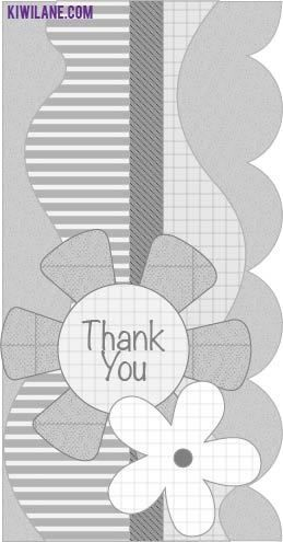 Best  Thank You Card Template Ideas On   Thank You