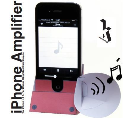 how to find your iphone easy to build iphone amplifier papercraft by kamibox 3811