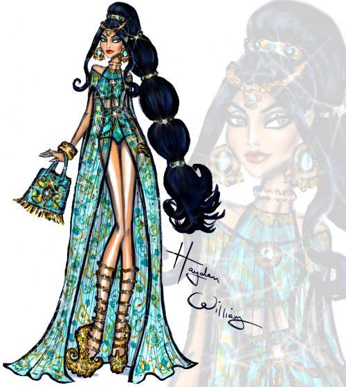 Disney Divas 'Beach Beauties' by Hayden Williams: Jasmine