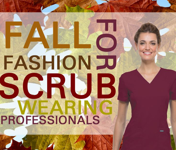 Stay on top of fashion with this season's styles and colors! Brought to you by The Uniform Outlet!  http://www.theuniformoutlet.com/about-us/latest-news/antimicrobial/2015/09/fall-fashion-scrub-wearing-professionals