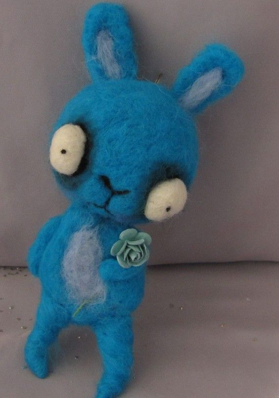 creepy stuffed animals ♥    by papermoongallery