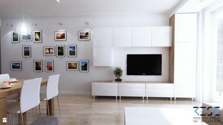 Salon styl Nowoczesny - zdjęcie od RESE-arch Studio Projektowe - Salon - Styl Nowoczesny - RESE-arch Studio Projektowe