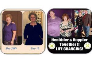 We loved the products and loved what they were doing for us.  In our first 8 days, Jim lost 18.5 inches, and I lost 11.5 inches.  After a month, he lost 47 inches, and I lost 33 inches