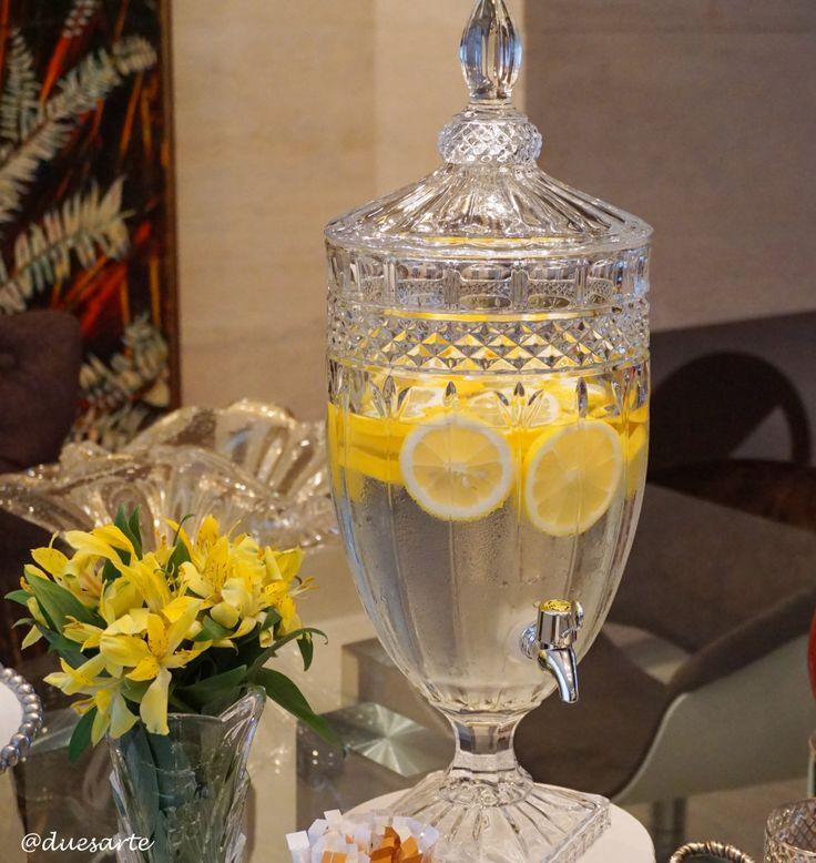filtro de vidro para água aromatizada