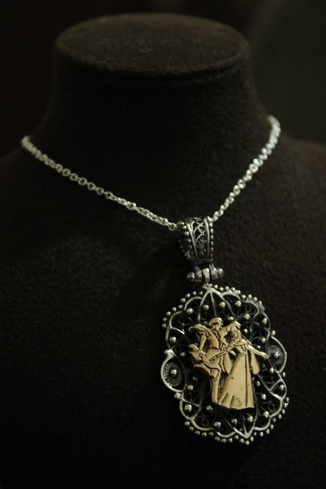 Circassian motif necklace