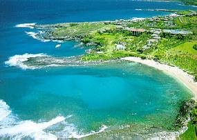 kapalua bay has one of the best beaches in all of America for swimming and great snorkeling