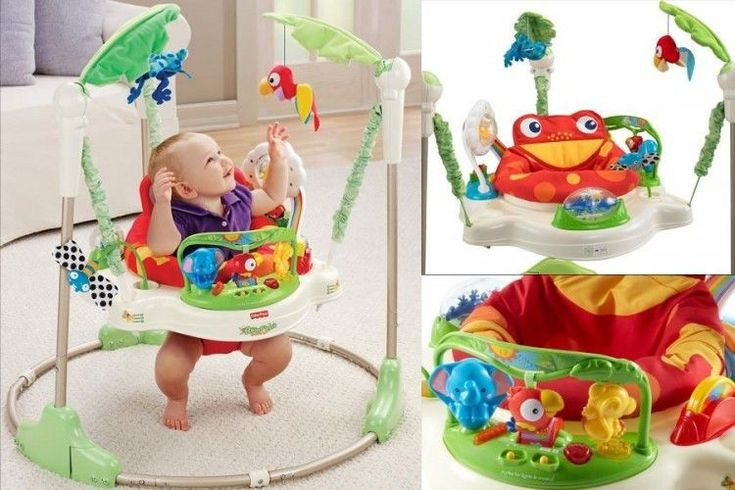 ICYMI: Baby Activity Jumper Walker Exersaucer Toy Interactive Seat Kids Learning Center