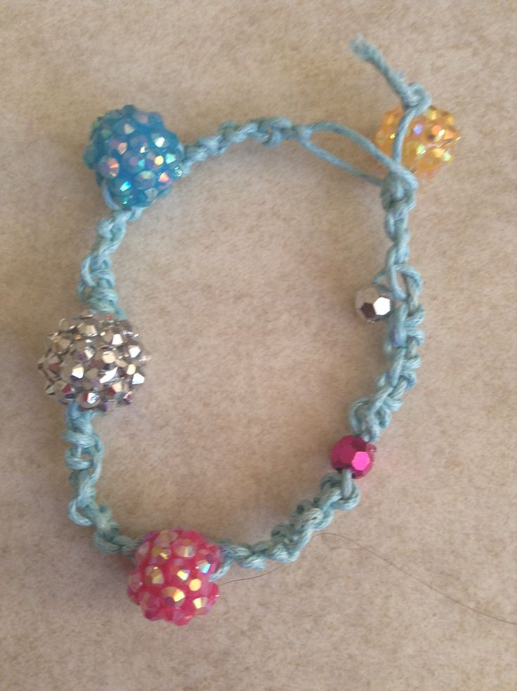 Finished Chinese stair case bracelet