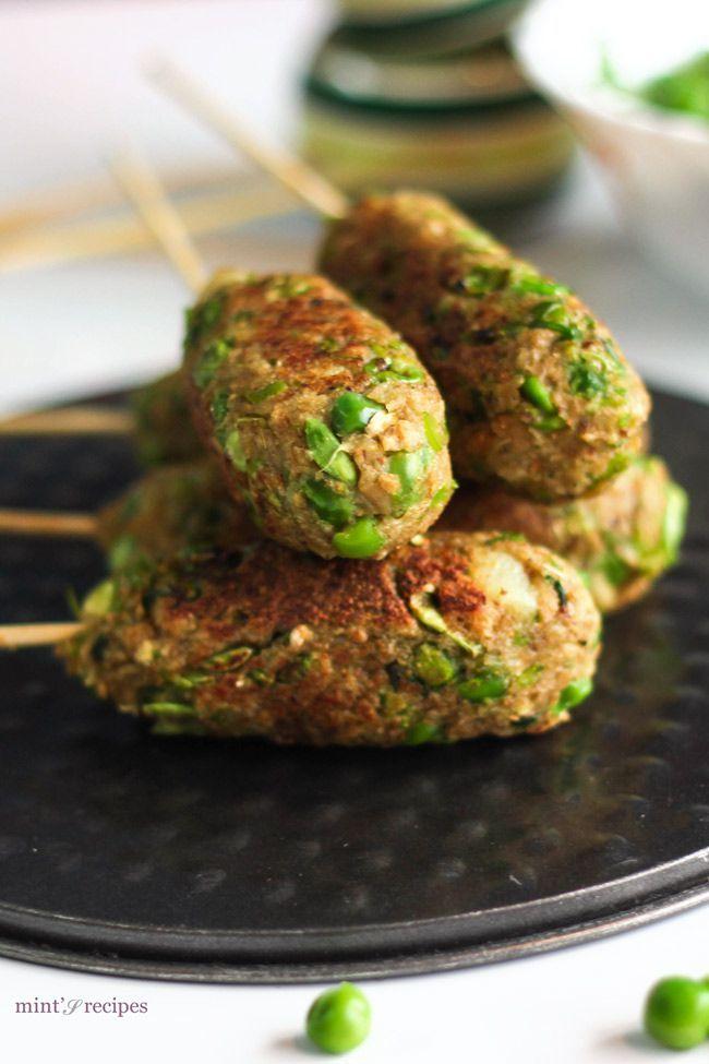 Veg Soya Kabab | A quick and easy healthy recipe | www.minstrecipes.com.