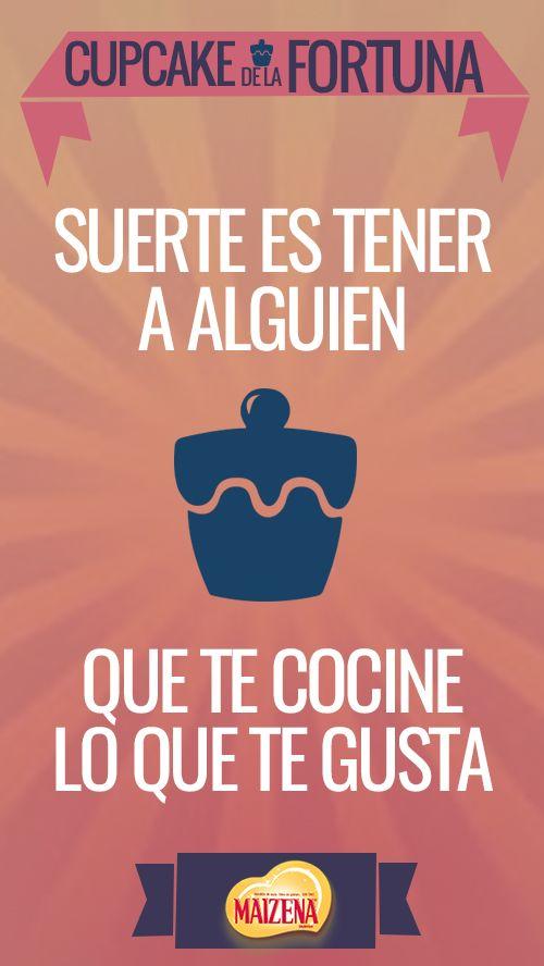 Más que galletitas, nosotros tenemos #cupcakedelafortuna.