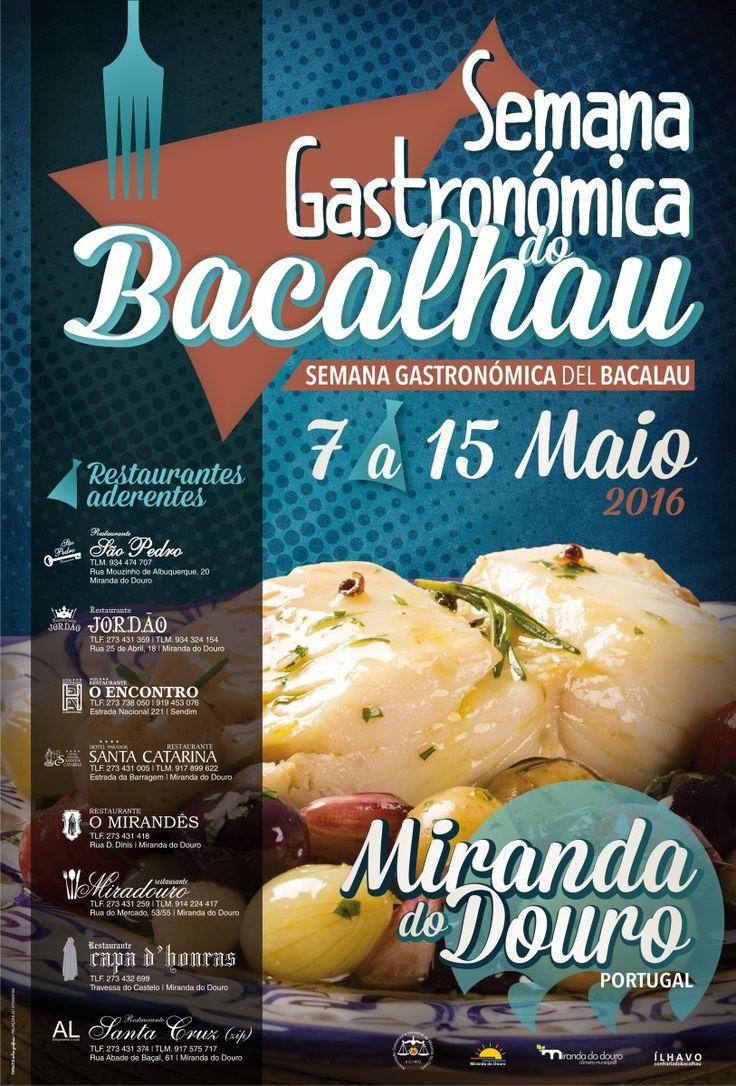 Semana Gastronómica do Bacalhau em Miranda do Douro