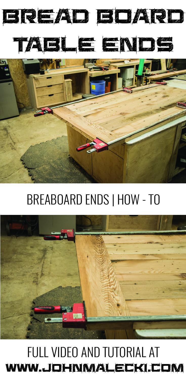 DIY Woodworking Ideas HOW-TO| QUICK AND EASY BREADBOARD END. Use this technique to attach your breadbo...