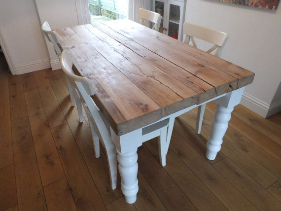 Dining Table Rustic Dining Table Traditional by CadenceWoodwork