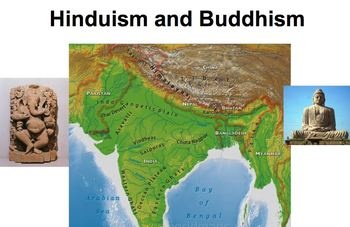 Comparing Hinduism and Buddhism - Guided Notes and Powerpoint!