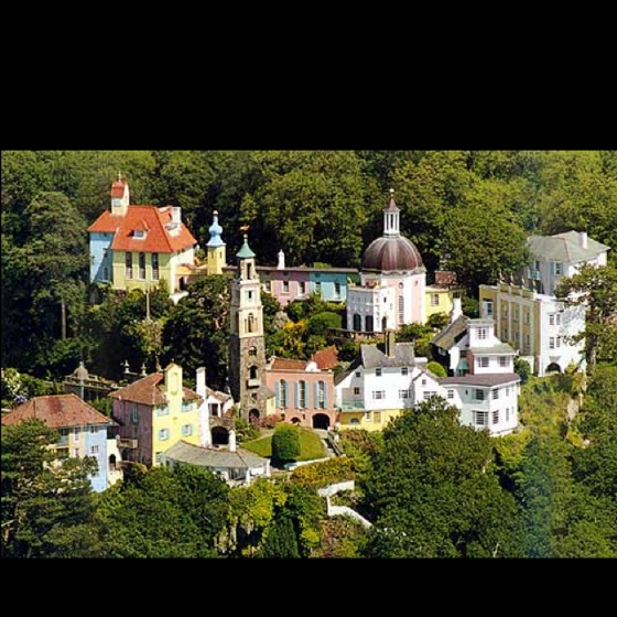 Portmeirion, Wales. A magical place