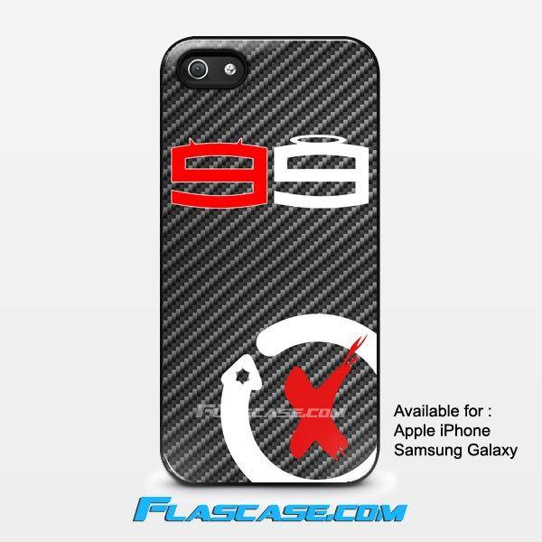 Jorge Lorenzo Land 99 Logo Carbon Apple iPhone 4/4s 5/5s 5c 6 6 Plus Samsung Galaxy S3 S4 S5 S6 S6 EDGE Hard Case