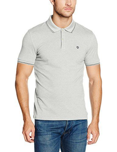 Celio Lecolrayeb, Polo Homme, Gris (Gris Chiné 02), Medium (Taille Fabricant: M): Tweet