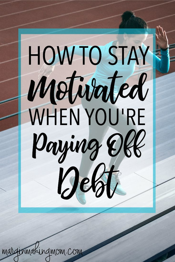 Paying off debt wasn't an easy process for me. Finding motivation to pay off debt was a crucial part of our success! Click through to learn how to find motivation to stay the course! Debt Payoff Tips | Get out of Debt | Paying off Debt