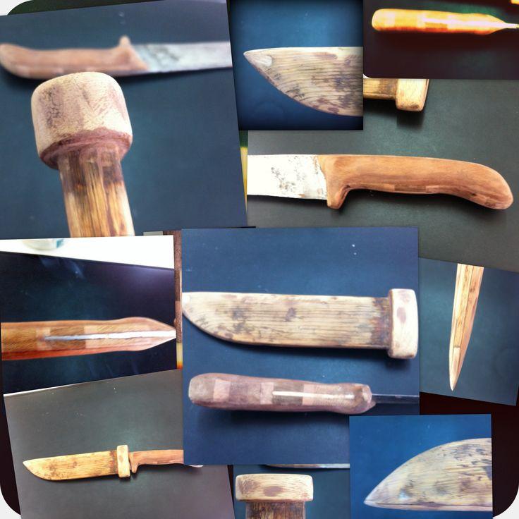 Ανακατασκευή παλιού-διαλυμένου μαχαιριού-θήκης