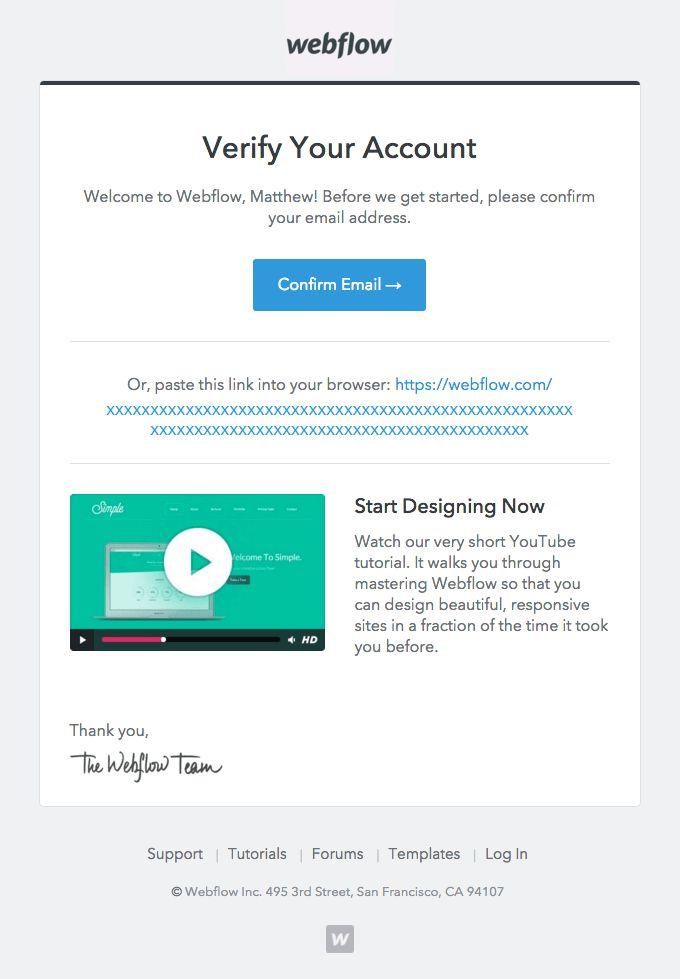 14 best V e r i f y images on Pinterest Email design, Email - sample confirmation email