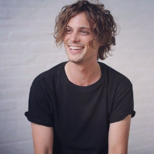 Matthew Gray Gubler at dna today!