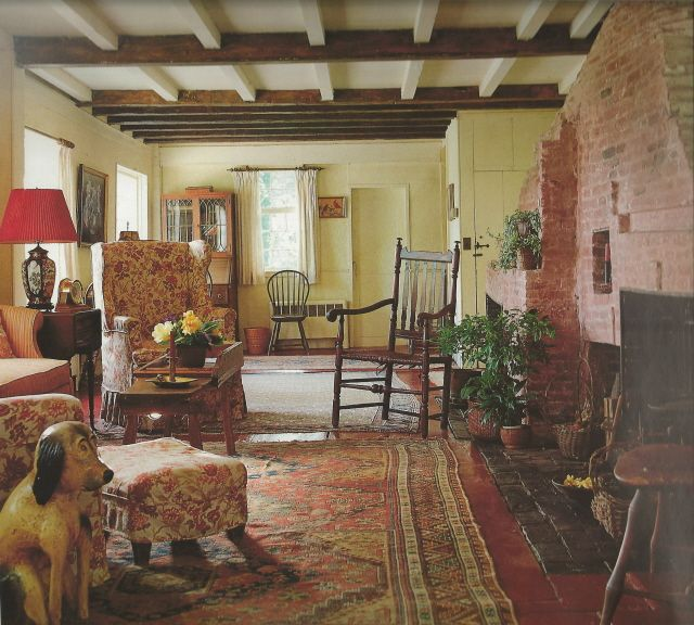 Colonial Hearth And Wing Chairs On Pinterest