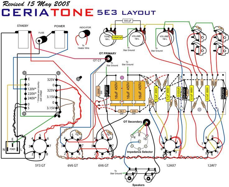 20 best gibson ga 20 amplifier images on pinterest fender deluxe rh pinterest com Original Fender Deluxe 5E3 5E3 Circuit