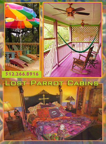 Austin Texas Cabin Resort near Lake Travis and Lake Austin – A Boutique Hotel in the Austin Texas Hill Country