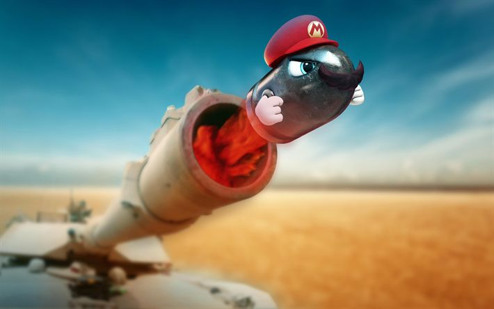 Download wallpapers Super Mario Odyssey, 4k, whizzbang, 2017 games, Nintendo