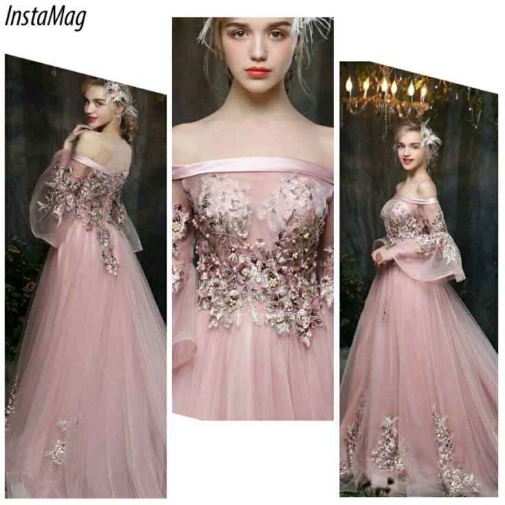 926 best abendkleider images on Pinterest | Bridal, Bridal gowns and ...