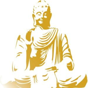BUDDHA - WALL DECAL // Comes in 5 dif sizes and 34 dif colors // $68