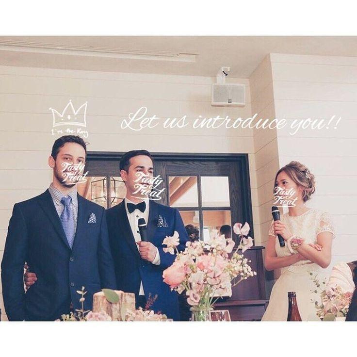 【結婚式レポ~当日編~】国際結婚のおふたりのアットホームなナチュラルウェディング♡