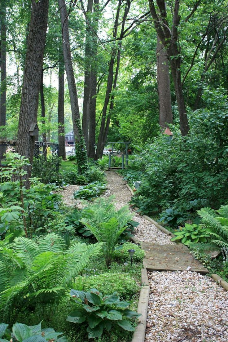 35 Beautiful Woodland Garden Ideas Easy To Create