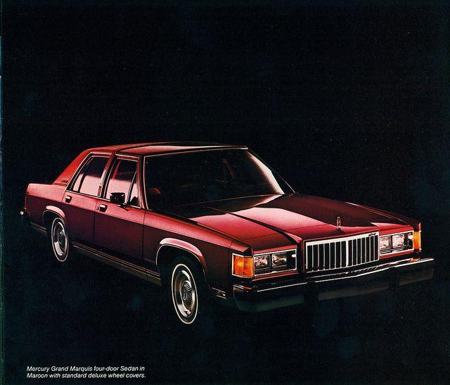 1983 Mercury Grand Marquis Four Door Sedan