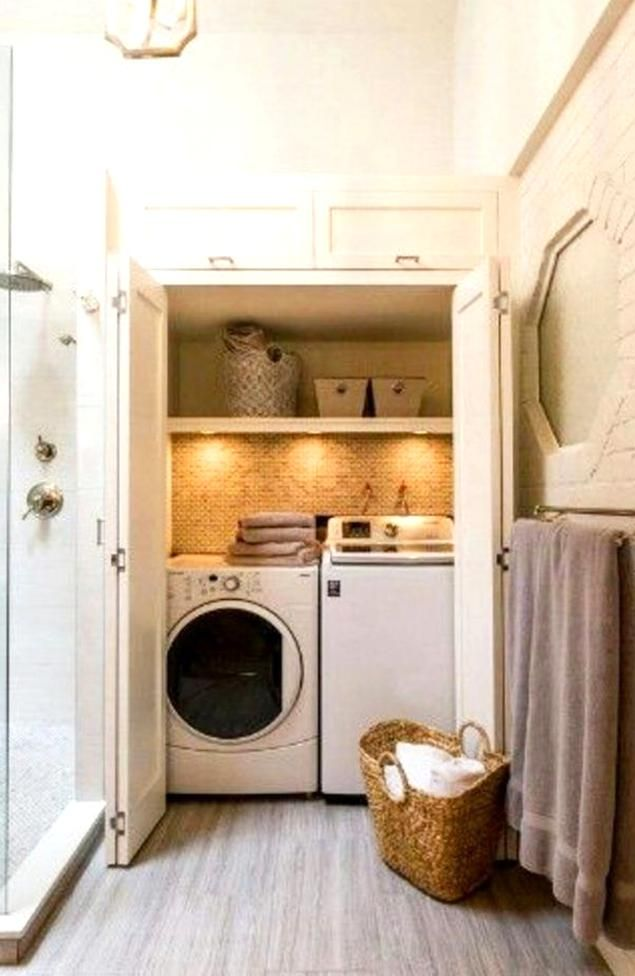 Laundry In Bathroom Laundry Nook Ideas Diy Laundry Bathroom