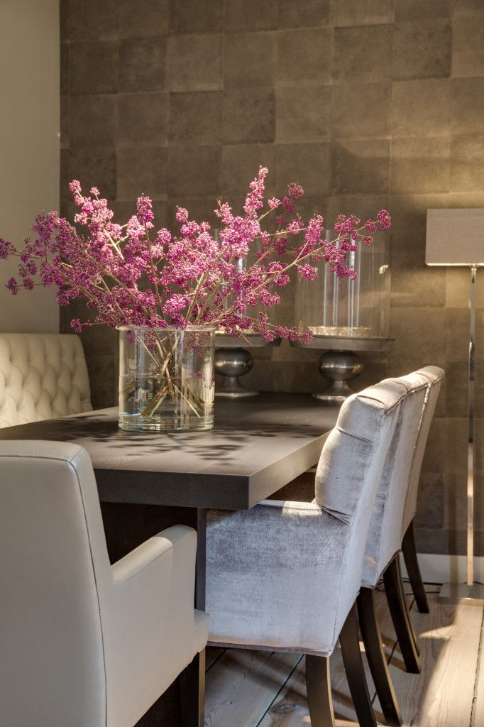 17 best images about dining room on pinterest national for Beautiful dining table centerpieces