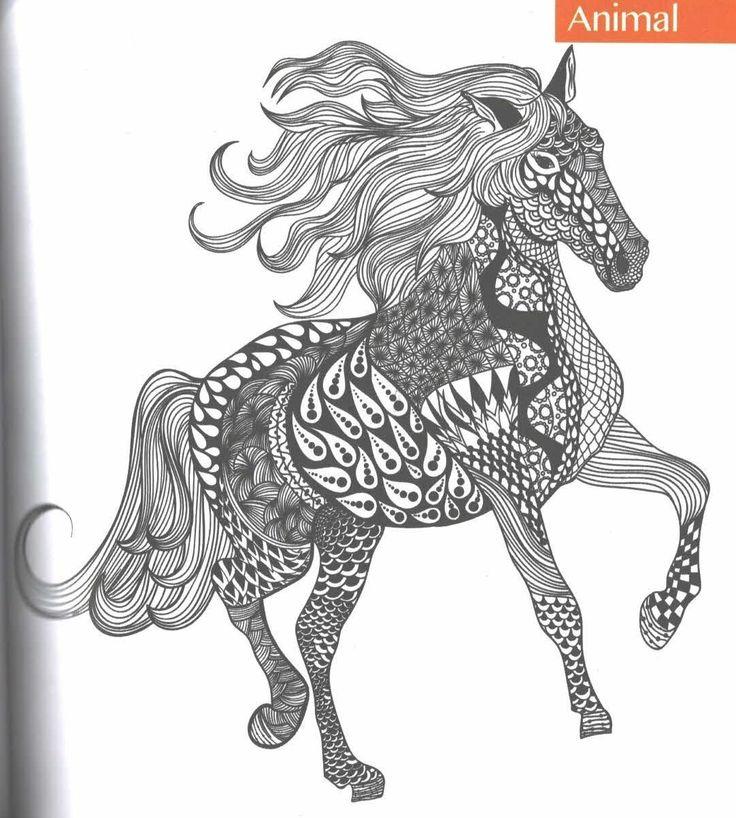 Les 58 meilleures images du tableau coloriage chevaux sur pinterest coloriage cheval chevaux - Mandala de chevaux ...