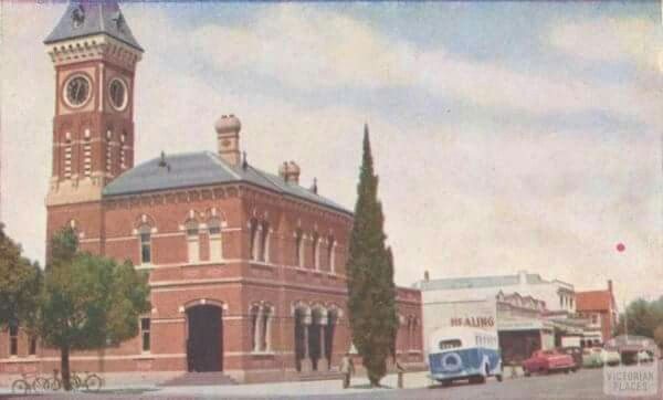 The old Shepparton post office.