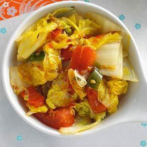 Recept - Chinese kool met tomaat - Allerhande