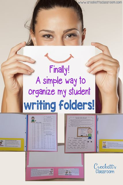 Ahhh! My student writing folders are a mess!  Find out how to keep the organized so students can keep track of their papers throughout the entire writing process.