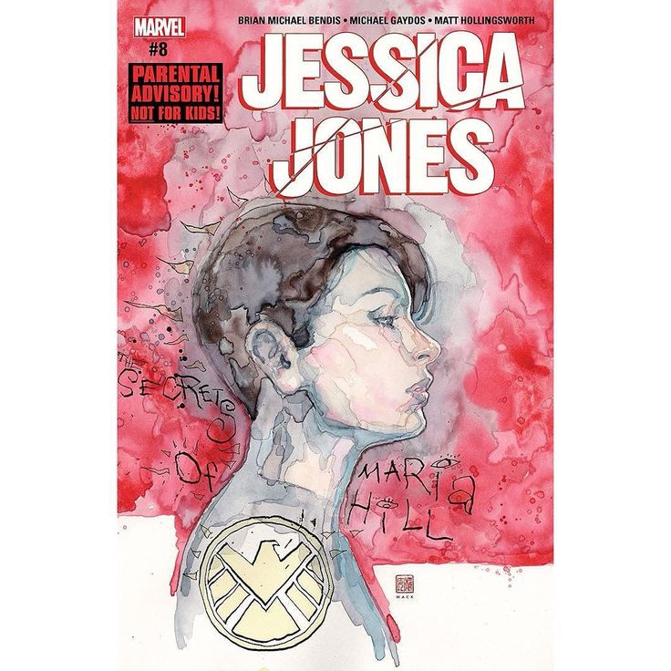 Jessica Jones (2016-) #8 Written by Brian Michael Bendis Art by Michael Gaydos Cover by David Mack With her life spinning out of control Jessica struggles to get to the bottom of the latest dark mystery of the Marvel Universe! But this is a secret that some dangerous people would prefer remains buried!