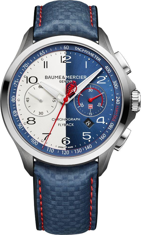 La Cote des Montres : La montre Baume & Mercier Clifton Club Shelby® Cobra - Édition limitée - «Sur les traces d'une icône»