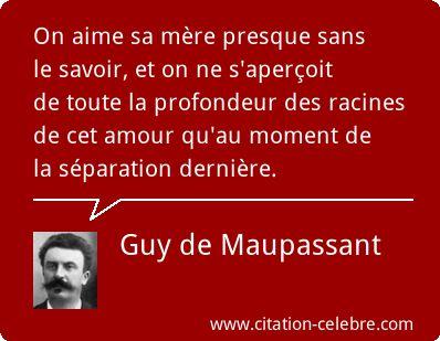 Guy de Maupassant :