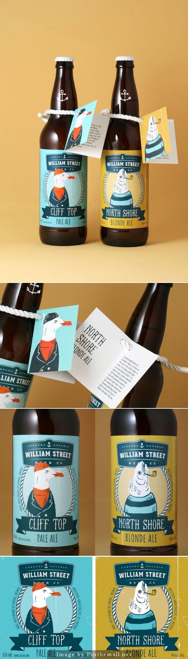 William Street Beer Co. #label #packaging