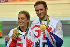 Jason Kenny and Laura Trott.