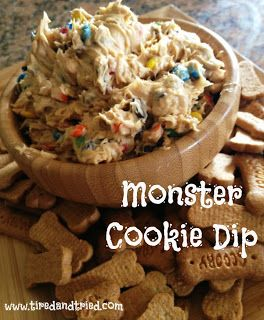 Tired and Tried: Monster Cookie Dip {Recipe}