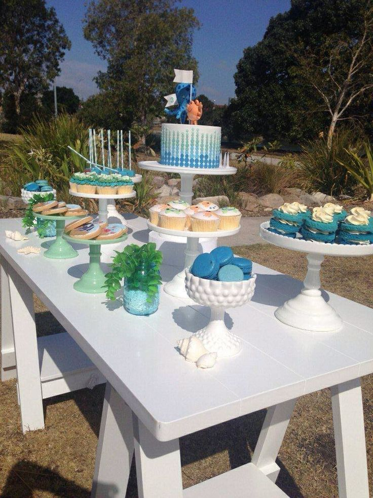 Under the Sea - Dessert Table by Sweet Soirees (www.sweet-soirees.com.au)